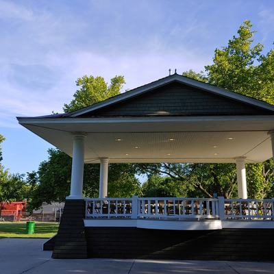 Fremont Park Bandstand, home of the EMB