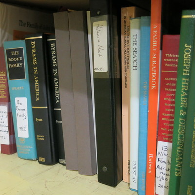 Family genealogy books