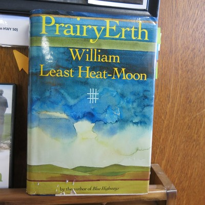 PrairyErth by William Least Heat Moon was written about Chase County, Ks. we offer a display of item