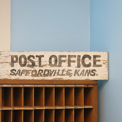Post office room - display